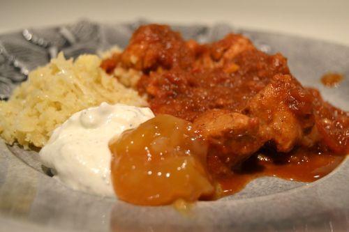kyckling curry gryta