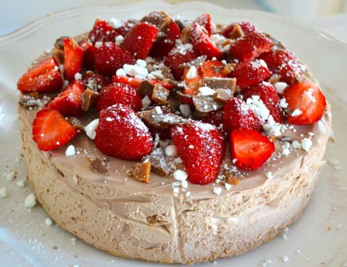 Chocolate mousse cheesecake_
