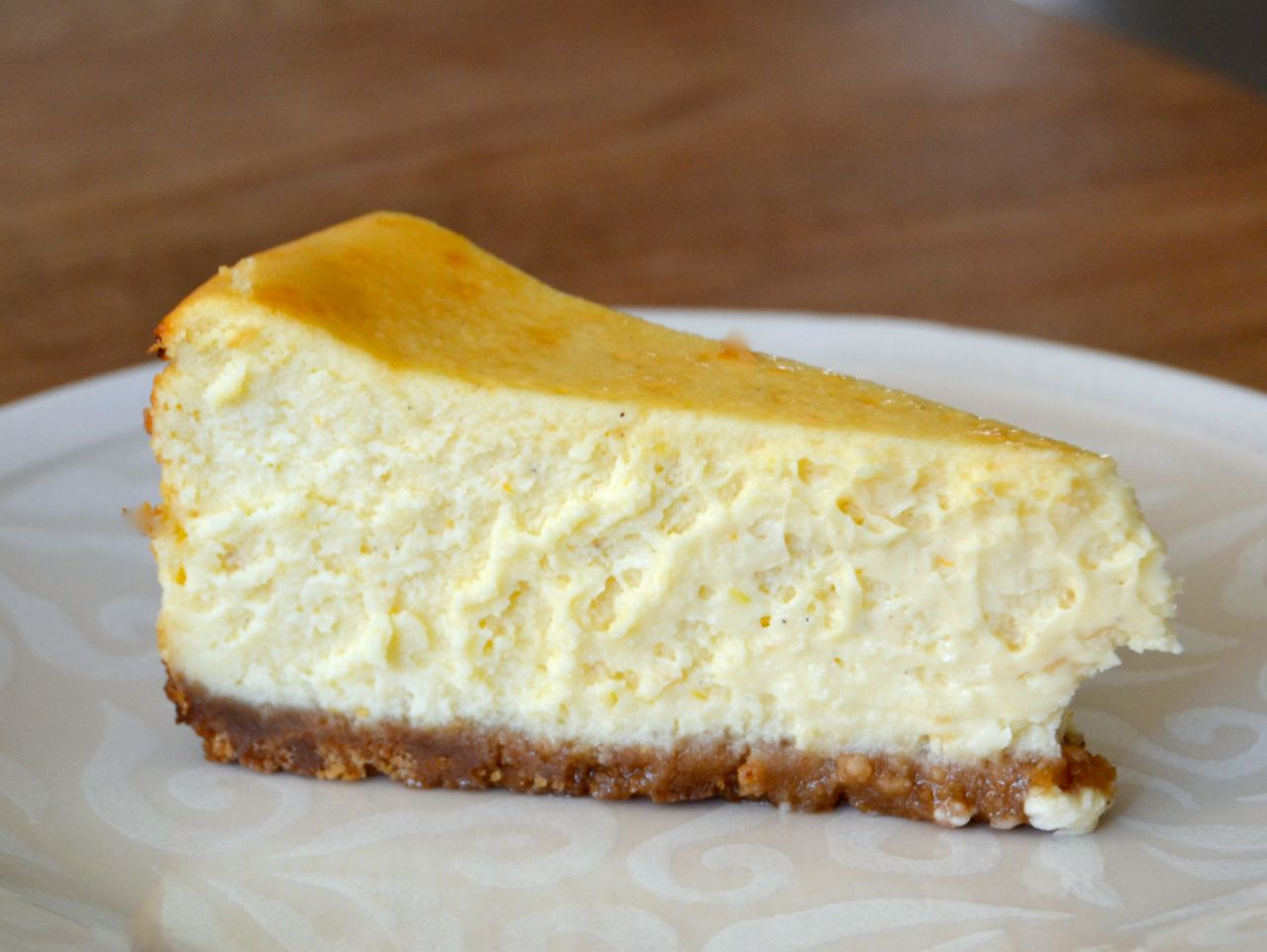 New York style cheesecake_